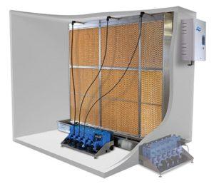 luchtbevochtigingssysteem